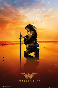 Juliste Wonder Woman - Kneel