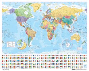 Juliste World map