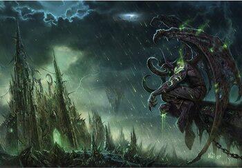 Juliste World of Warcraft - Illidan Stormrage