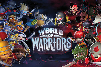 Juliste  World of Warriors - Characters