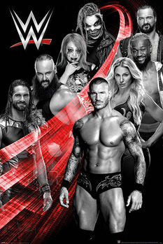 Juliste WWE - Superstars Swoosh