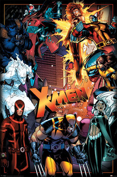 Juliste X-Men - Characters