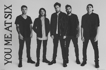 Juliste You Me At Six - Band