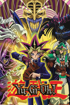 Juliste  YU GI OH! - Yugi and Monsters