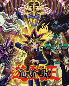 Juliste Yu Gi Oh! - Yugi and Monsters