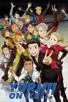 Juliste  Yuri On Ice - Characters