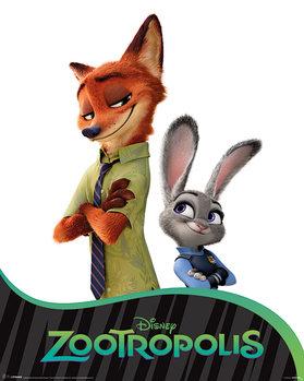 Juliste Zootropolis: eläinten kaupunki - Characters