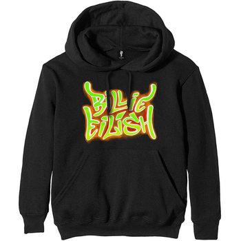 Billie Eilish - Airbrush Flames Jumper