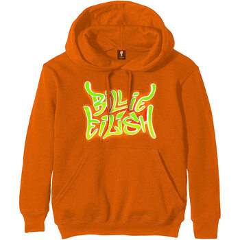 Billie Eilish - Airbrush Flames Jumper