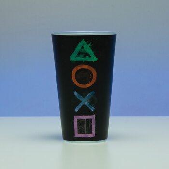 Juomalasi Playstation - Logo