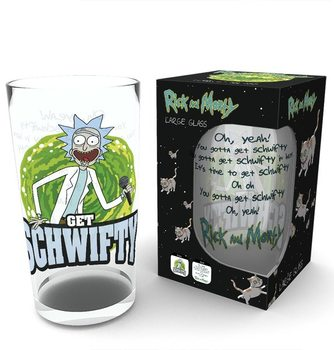 Juomalasi  Rick and Morty - Get Schwifty