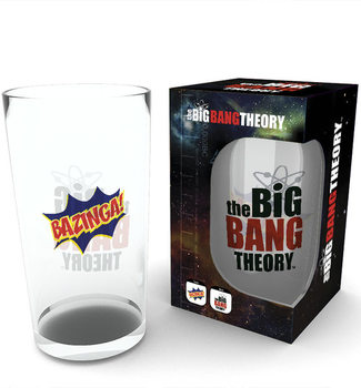 Juomalasi The Big Bang Theory - Bazinga