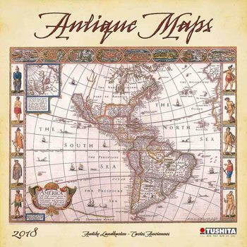 Kalenteri 2021 Antique Maps