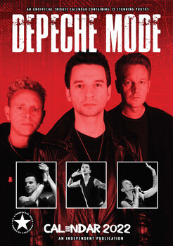 Kalenteri 2022 Depeche Mode