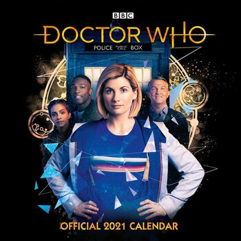 Kalenteri 2021 Doctor Who - The 13Th Doctor