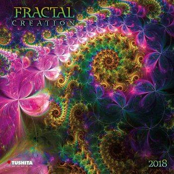 Kalenteri 2021 Fractal Creation