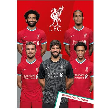 Kalenteri 2021 Liverpool