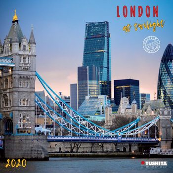 Kalenteri 2021 London at Twilight