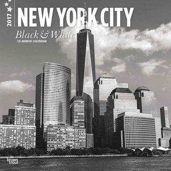 Kalenteri 2021 New York - Black & White