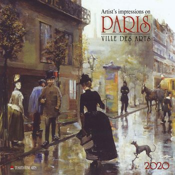 Kalenteri 2021 Paris - Ville des Arts