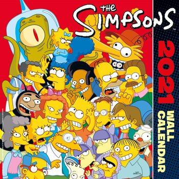Kalenteri 2021 Simpsonit
