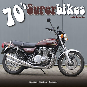 Kalenteri 2021 70'S Superbikes