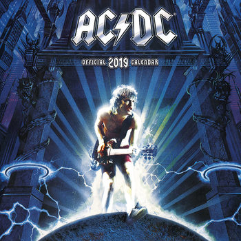 Kalenteri 2019  AC/DC
