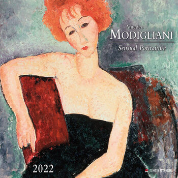 Kalenteri 2022 Amedeo Modigliani - Sensual Portraits