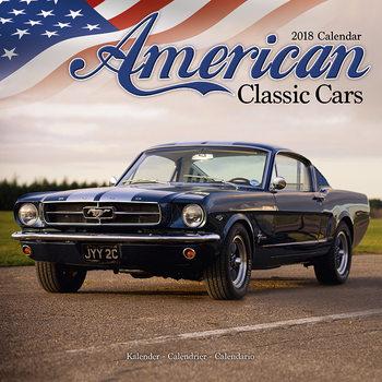Kalenteri 2018 American Classic Cars