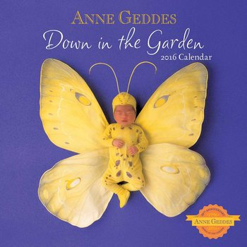 Kalenteri 2018  Anne Geddes - Down in the Garden