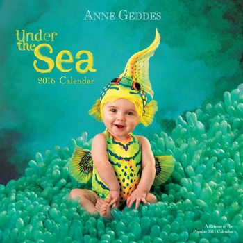 Kalenteri 2018  Anne Geddes - Under the Sea
