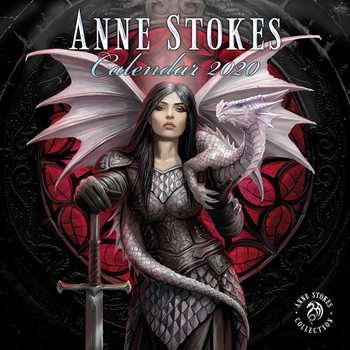 Kalenteri 2020  Anne Stokes