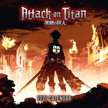 Kalenteri 2022 Attack on Titan