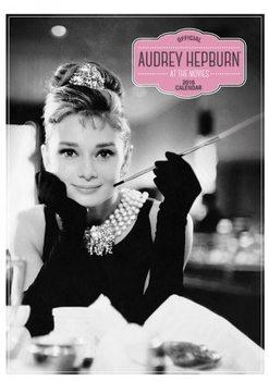Kalenteri 2017 Audrey Hepburn A3