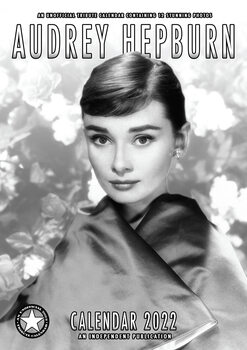 Kalenteri 2022 Audrey Hepburn