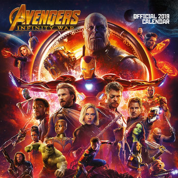 Kalenteri 2019  Avengers Infinity War