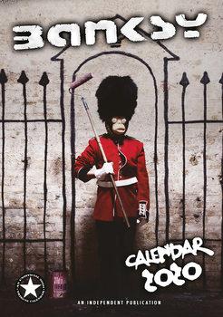 Kalenteri 2020  Banksy