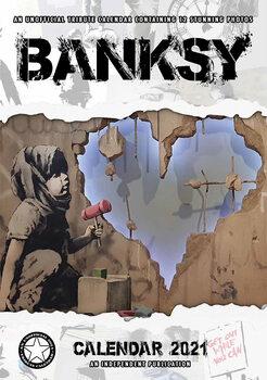 Kalenteri 2021 Banksy