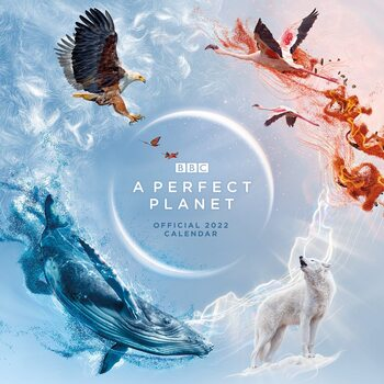 Kalenteri 2022 BBC Perfect Planet