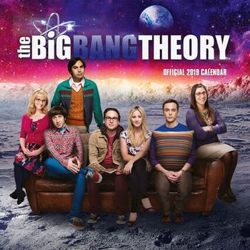 Kalenteri 2019  Big Bang Theory