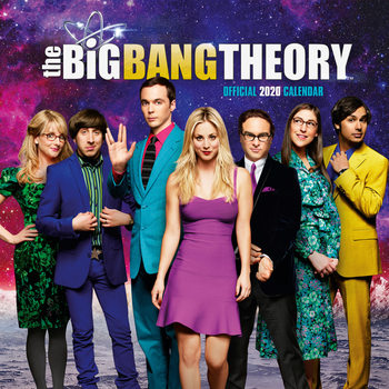 Kalenteri 2020  Big Bang Theory