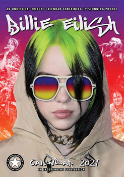 Kalenteri 2021 Billie Eilish