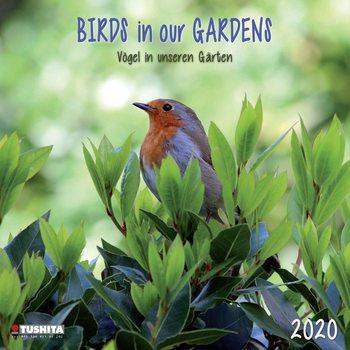 Kalenteri 2020  Birds in our Garden
