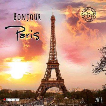 Kalenteri 2018 Bonjour Paris