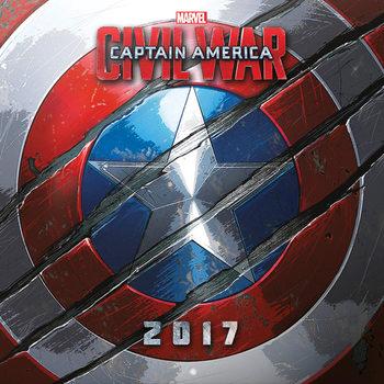 Kalenteri 2017 Captain America: Civil War