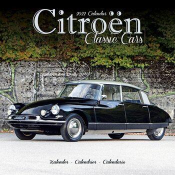 Kalenteri 2022 Citroen Classic Cars