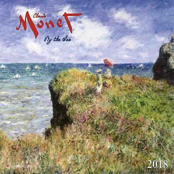 Kalenteri 2018 Claude Monet - By the Sea