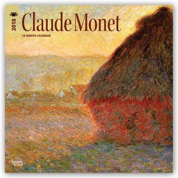 Kalenteri 2018 Claude Monet