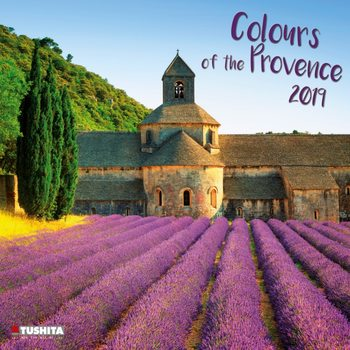 Kalenteri 2019  Colours of the Provence