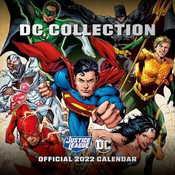 Kalenteri 2022 DC Comics